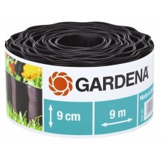 Бордюр садовый коричневый 9м * 9см Gardena