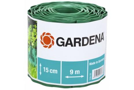 Бордюр садовый зеленый 9м * 15см Gardena
