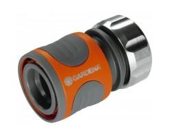 Коннектор Premium для шланги 1/2 Мет/пластмасса Gardena