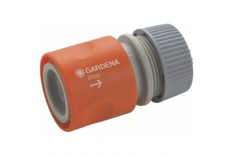 """Коннектор с автостопом для шланга Gardena 1/2 """""""