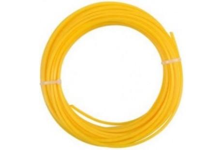 Триммерный корд Husqvarna 2,7мм/240м круглый (желтый)