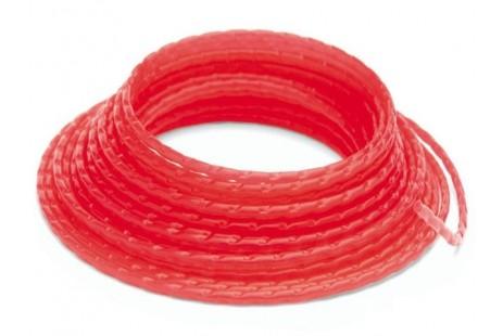 Триммерный корд Husqvarna 3,0мм/10м круглый (красный)