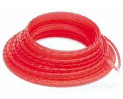 Триммерный корд Husqvarna 3,0мм/56м круглый (красный)