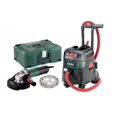 Набор УШМ (Болгарка) Metabo WE 15-125 HD Set GED + ASR 35 M ACP