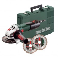 Набор УШМ (Болгарка) Metabo W 9-125 Quick + кейс + 2хPromo