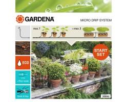 Набор микрокапельные полива Базовый Gardena