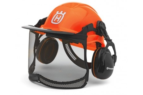 Шлем защитный Husqvarna, с наушниками
