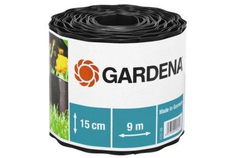 Бордюр садовый коричневый 9м * 15см Gardena