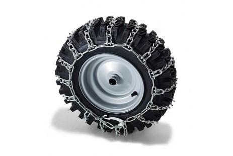 Цепи Husqvarna на колеса для тракторов ТС238ТХ, ТС242ТХ, СТ 154; СТН 184Т; СТН 224Т; M 145-107TC; M 185-107TC; M 200-107TC