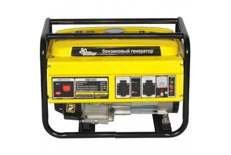 Генератор бензиновый Кентавр КБГ283