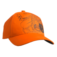 Кепка Husqvarna XPLORER Pioneer Saw оранжевая