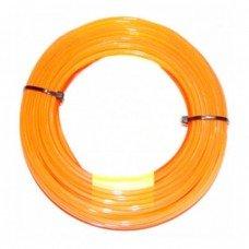 Корд триммера Husqvarna 2.4 / 70м Quadra Donut Orange