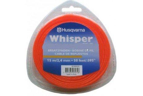 Триммерный корд Husqvarna 2,4мм/15м Whisper