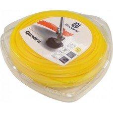Корд триммера Husqvarna 2.7 / 55м Quadra Donut Yellow