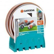 Кронштейн настенный со шлангом Classic Gardena