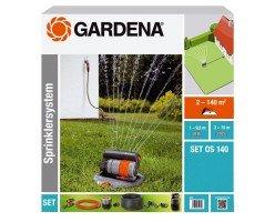 Набор для полива с дождеватель OS 140 Gardena