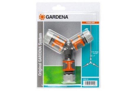 Набор коннекторов тройником 13 мм (1/2 Gardena