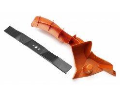 Вставка мульчирующая + нож; Husqvarna